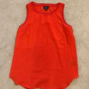 Only worn once-orange tank top